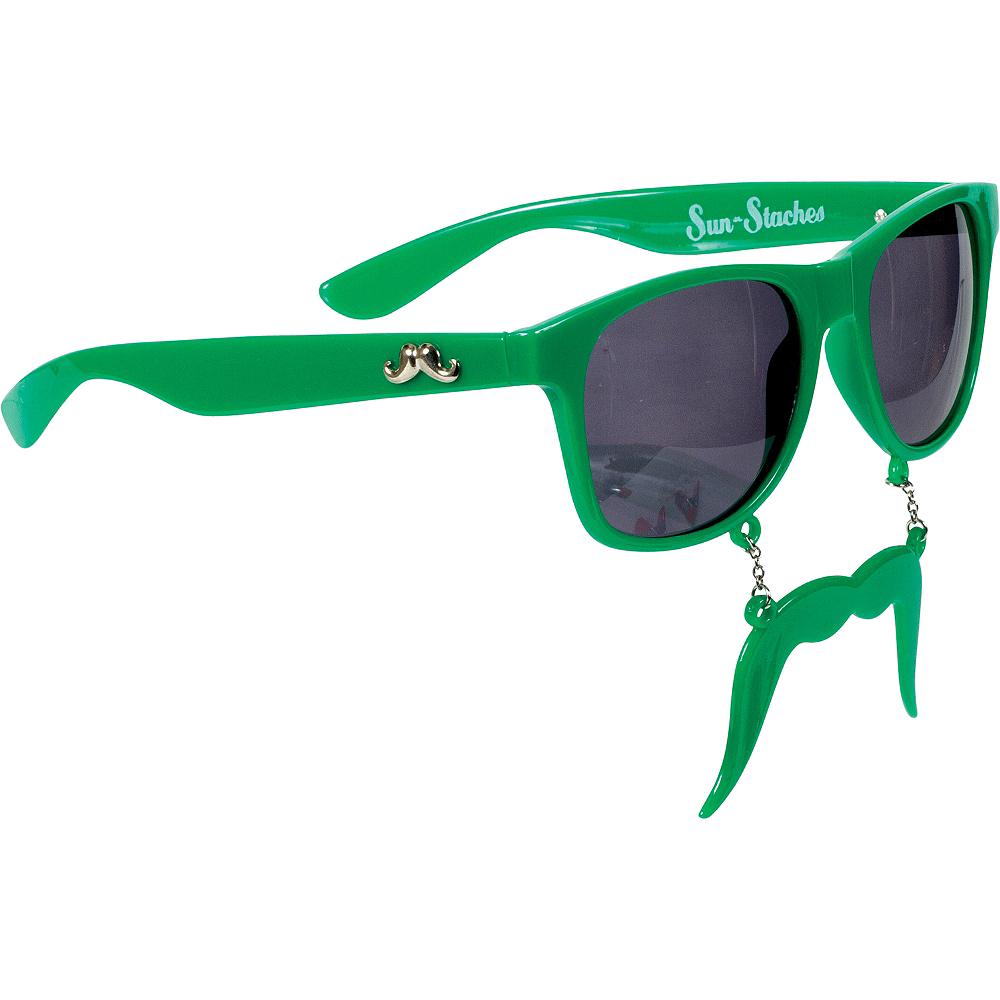 Green Handlebar Sun-Staches Image #2