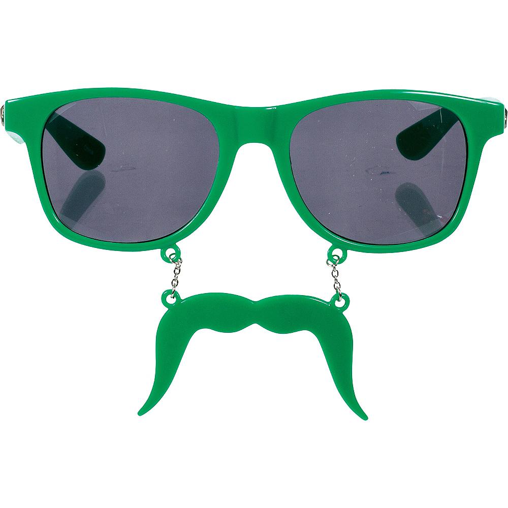Green Handlebar Sun-Staches Image #3