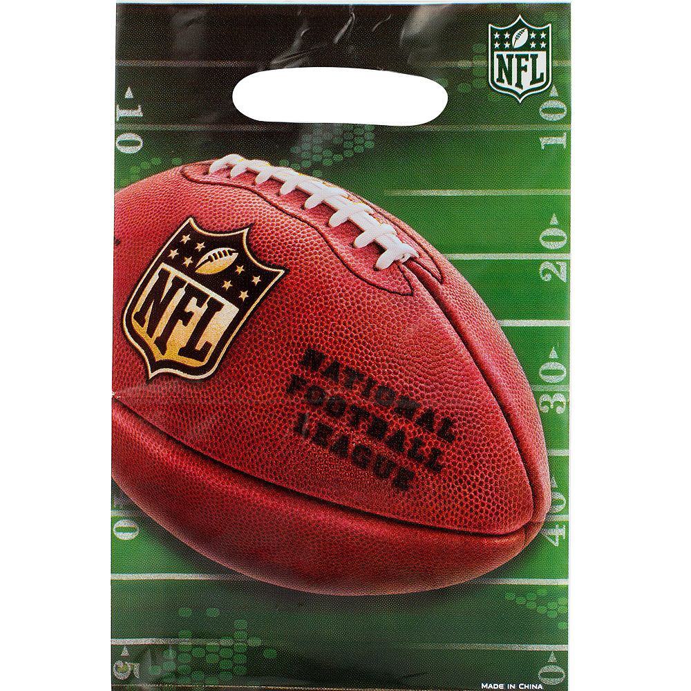 NFL Drive Favor Bags 8ct Image #1