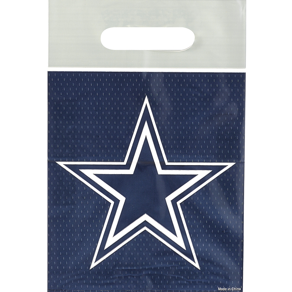 Dallas Cowboys Favor Bags 8ct Image #1