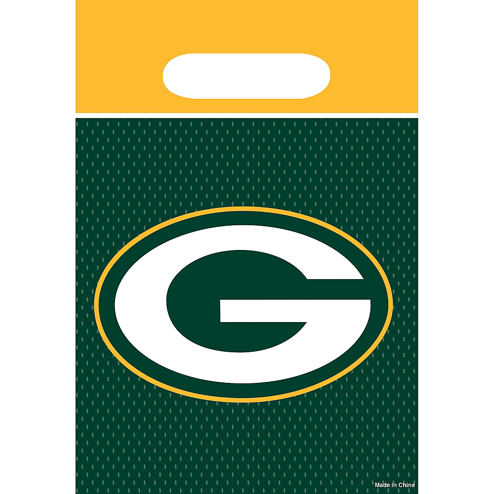 Green Bay Packers Favor Bags 8ct Image #1