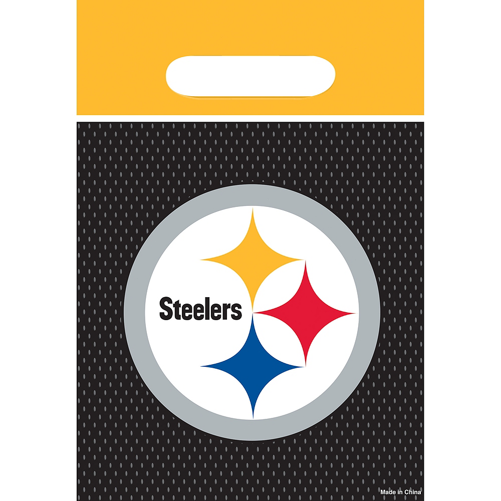 Pittsburgh Steelers Favor Bags 8ct Image #1