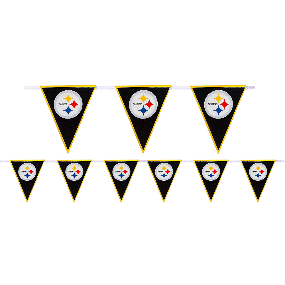 Nav Item for Pittsburgh Steelers Pennant Banner Image #1
