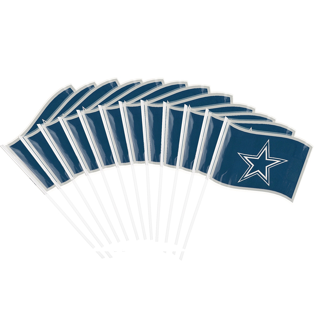 Dallas Cowboys Flags 12ct Image #1