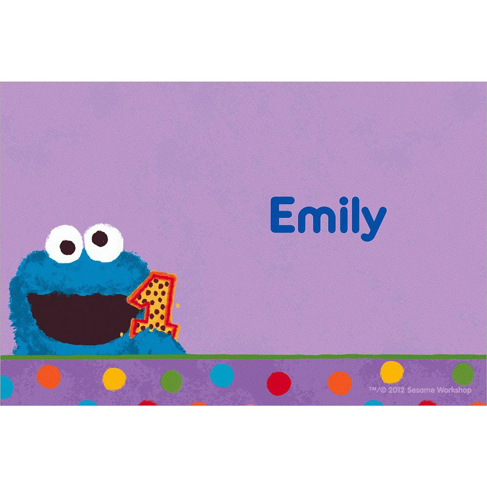 Custom Sesame 1st Birthday Thank You Notes Image #1