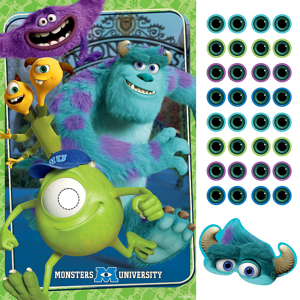 Monsters University Party Game Image #1