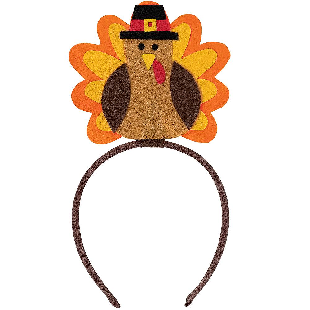 Felt Turkey Headband Image #1