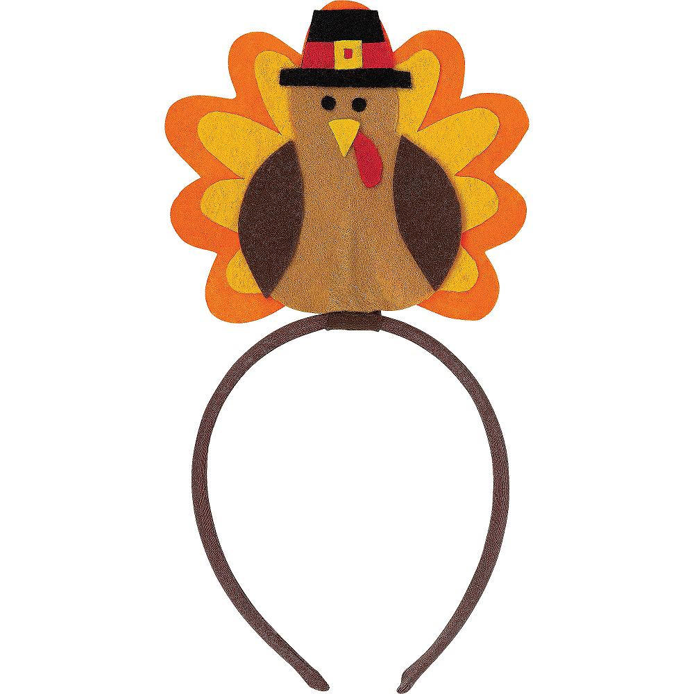 Felt Turkey Headband Image #2