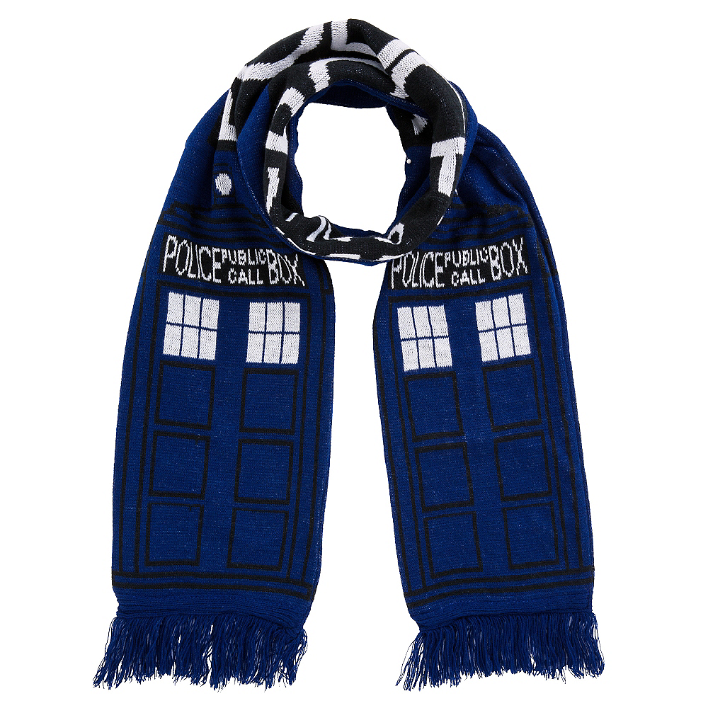 Nav Item for Doctor Who TARDIS Scarf Image #1