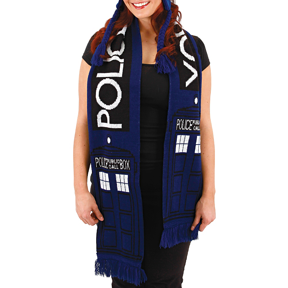 Nav Item for Doctor Who TARDIS Scarf Image #2