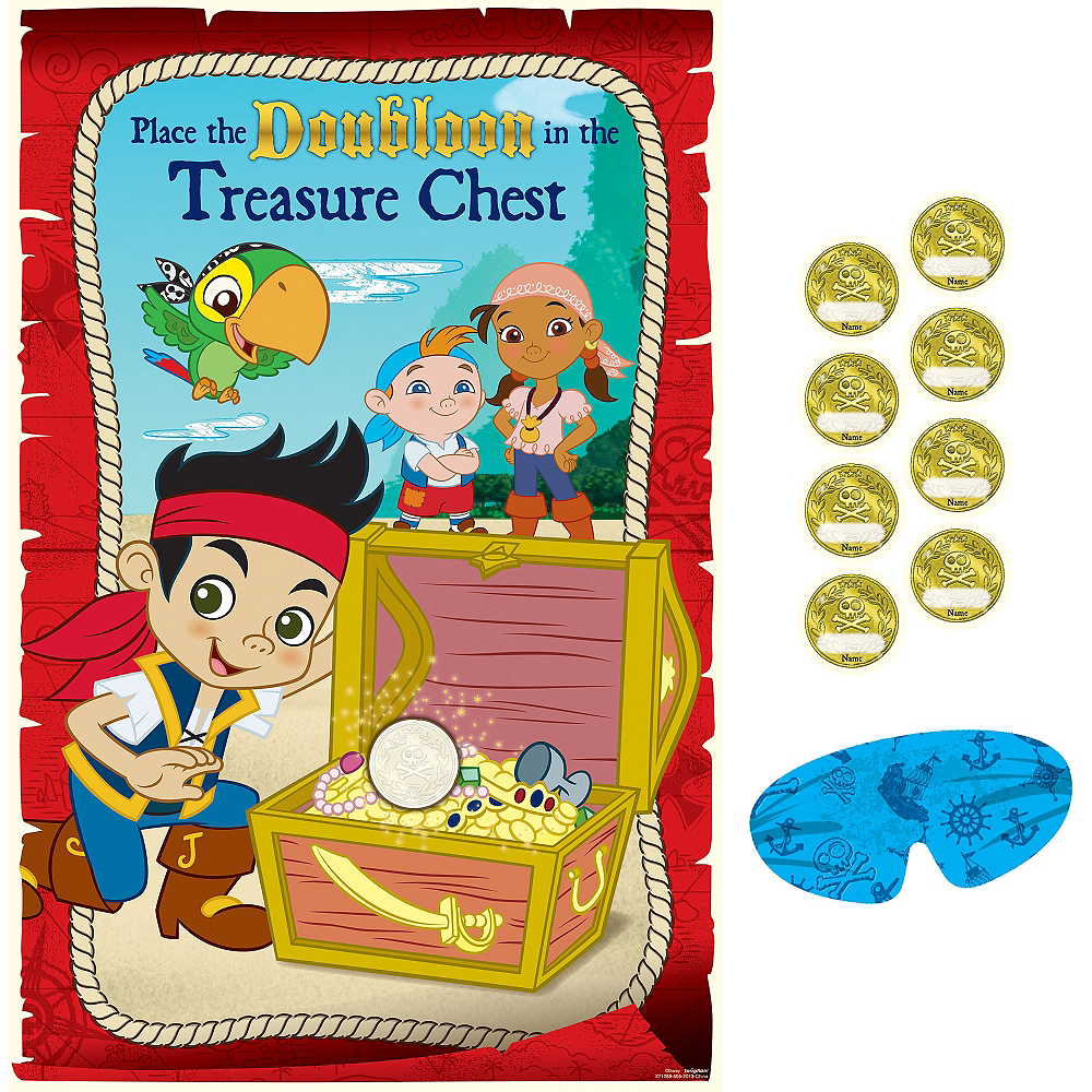 Jake And The Never Land Pirates Party Game Party City
