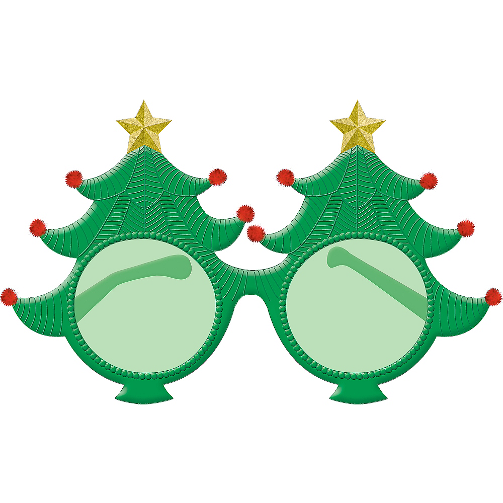 Christmas Tree Glasses Image #1