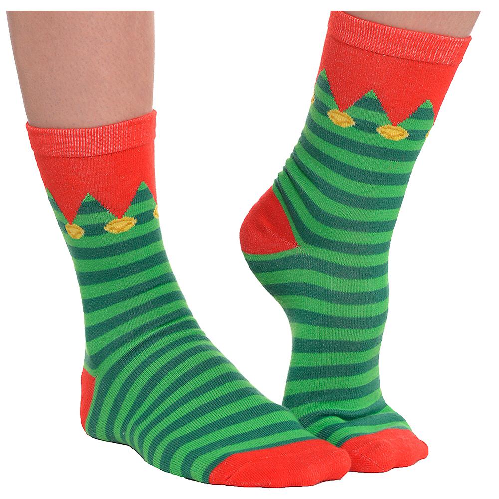 Striped Elf Socks Image #1