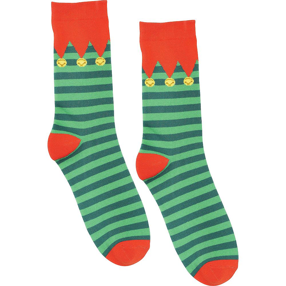 Striped Elf Socks Image #2
