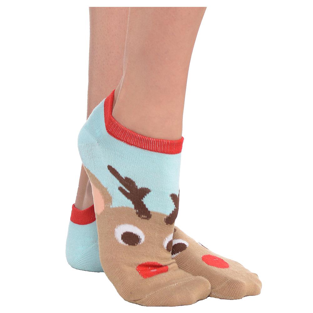 Reindeer Ankle Socks Image #1