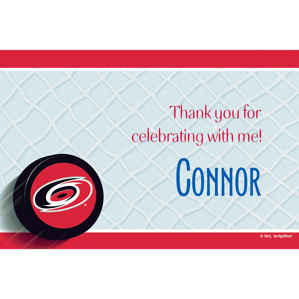 Nav Item for Custom Carolina Hurricanes Thank You Notes Image #1