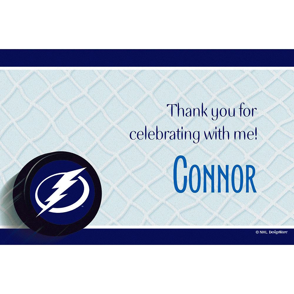 Custom Tampa Bay Lightning Thank You Notes Image #1