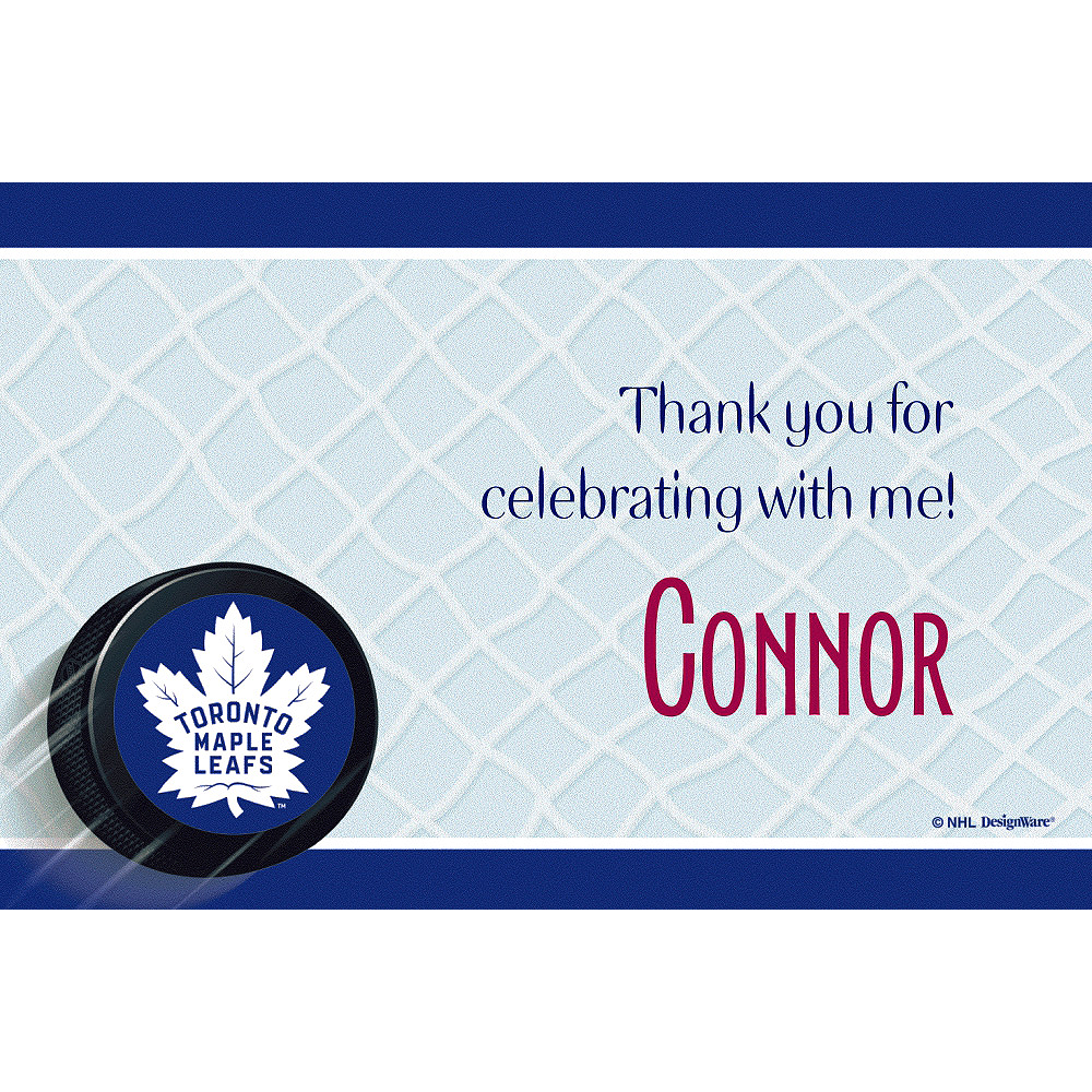 Custom Toronto Maple Leafs Thank You Notes Image #1
