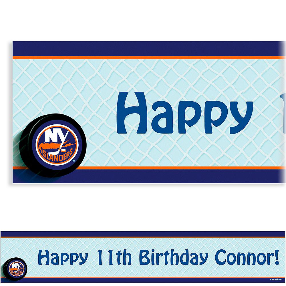 Custom New York Islanders Banner 6ft Image #1