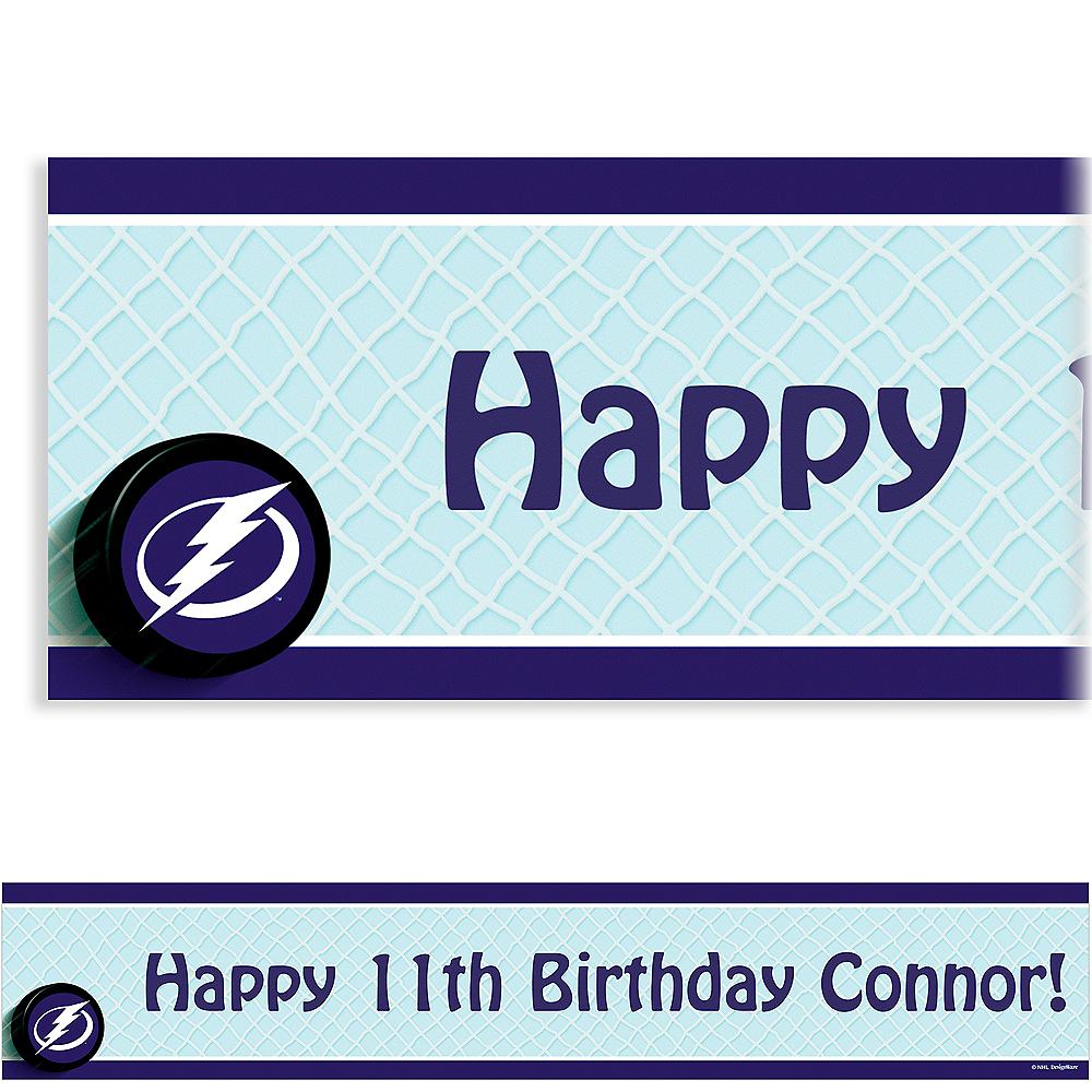 Custom Tampa Bay Lightning Banner 6ft Image #1