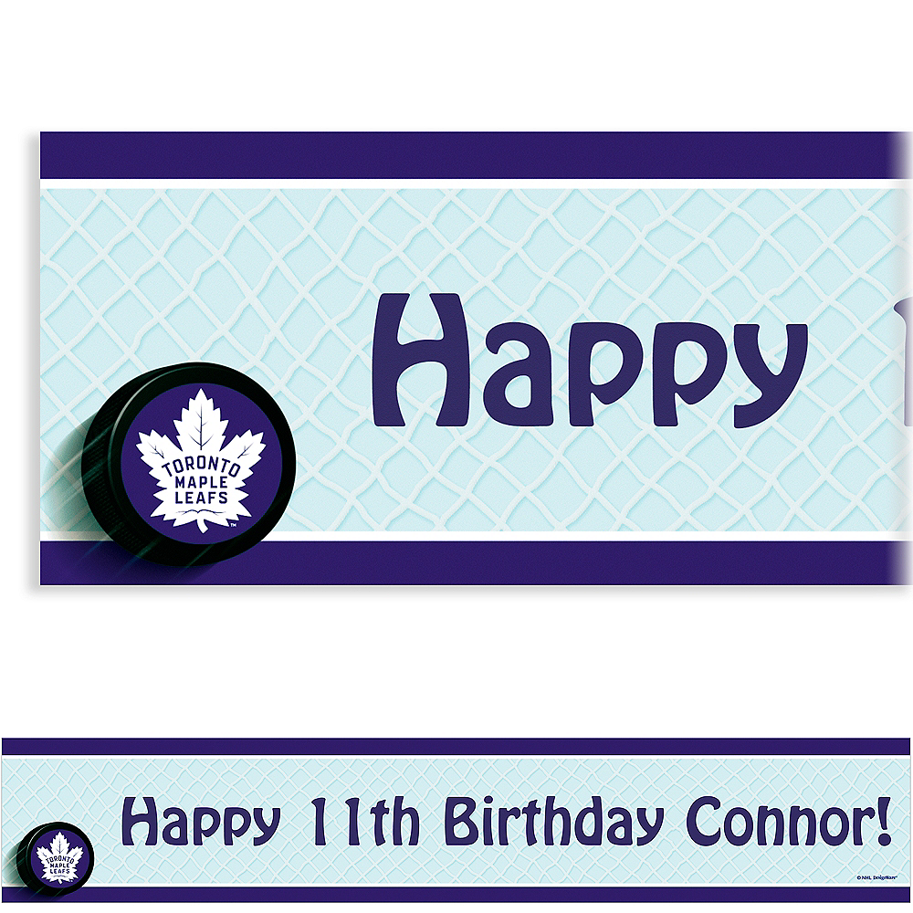 Custom Toronto Maple Leafs Banner 6ft Image #1