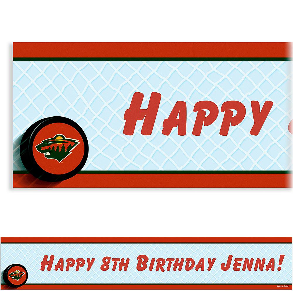 Custom Minnesota Wild Banner 6ft Image #1