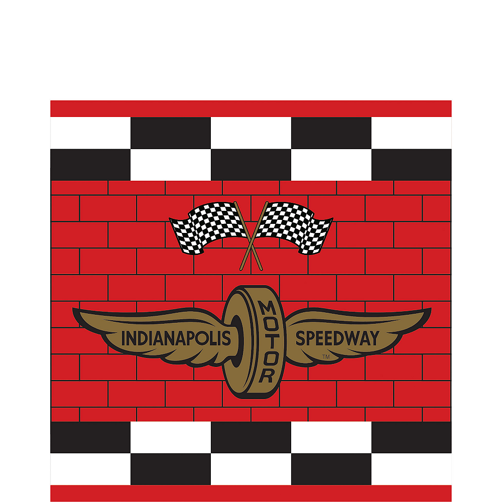 Indy 500 Lunch Napkins 24ct Image #1