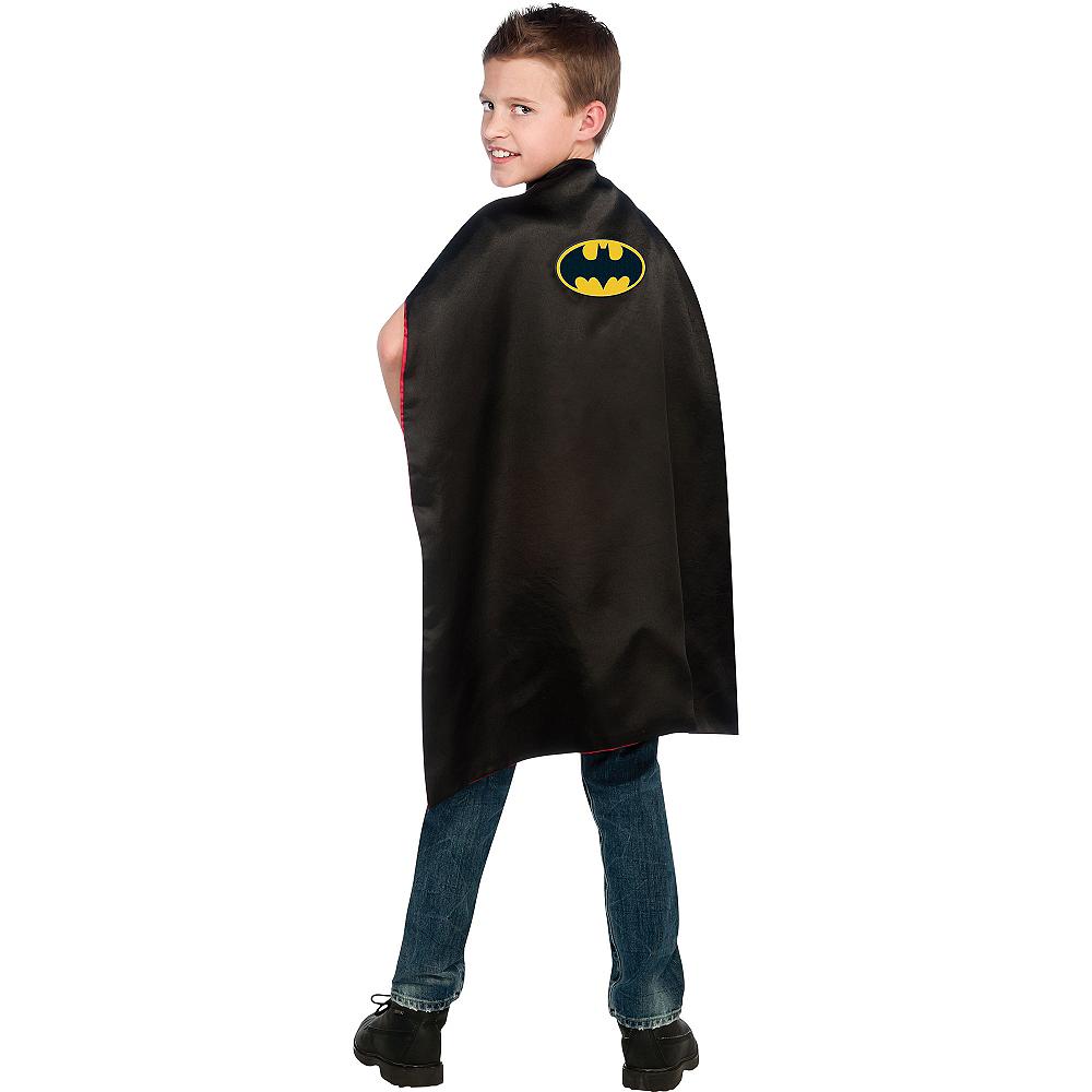 Child Reversible Batman & Superman Cape Image #2