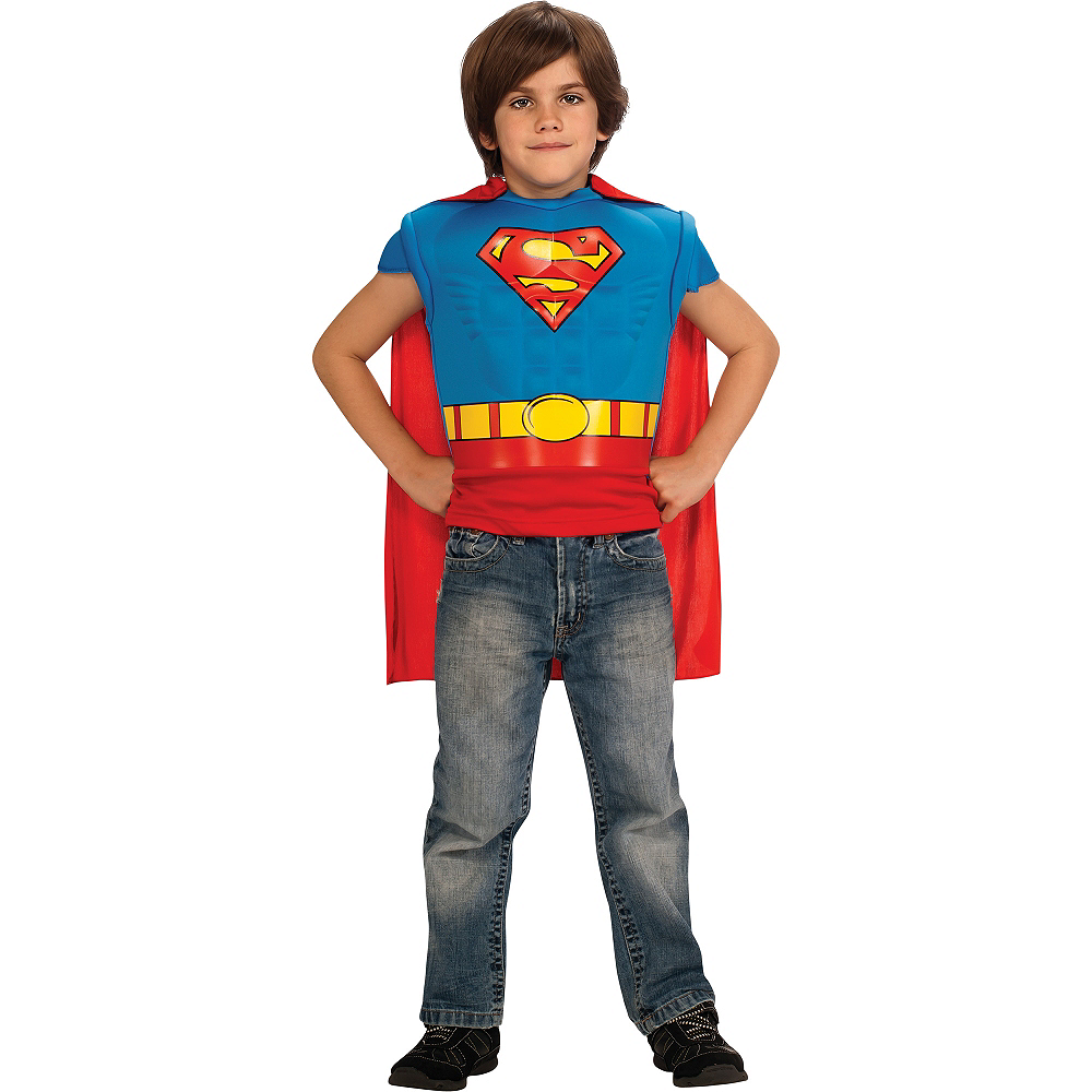Child Superman Muscle Shirt Image #3