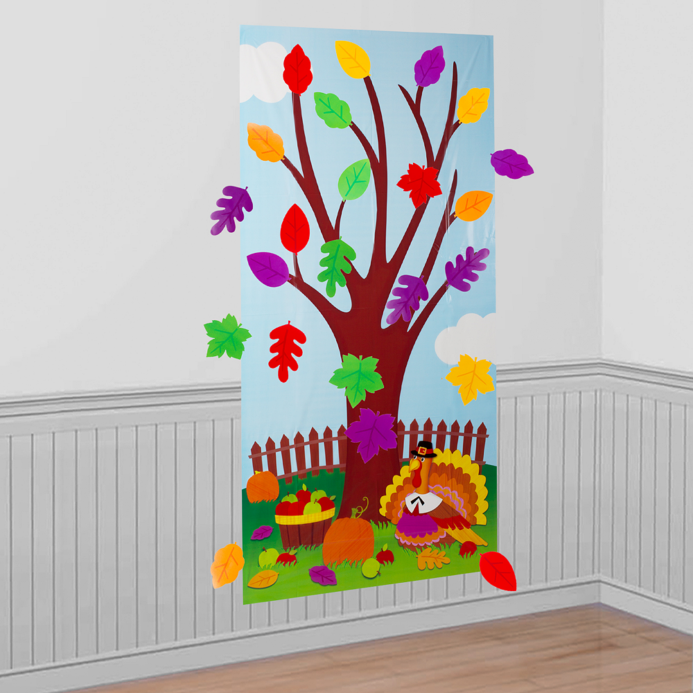 Thanksgiving Tree Activity Kit 31pc Image #1