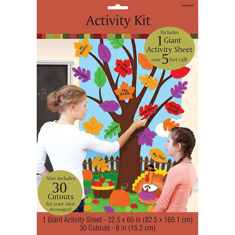 Thanksgiving Tree Activity Kit 31pc Image #2