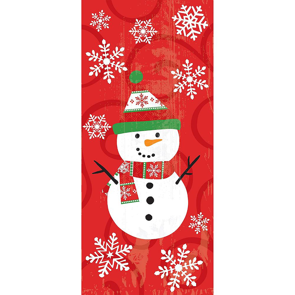 Snowman Treat Bags 20ct Image #1