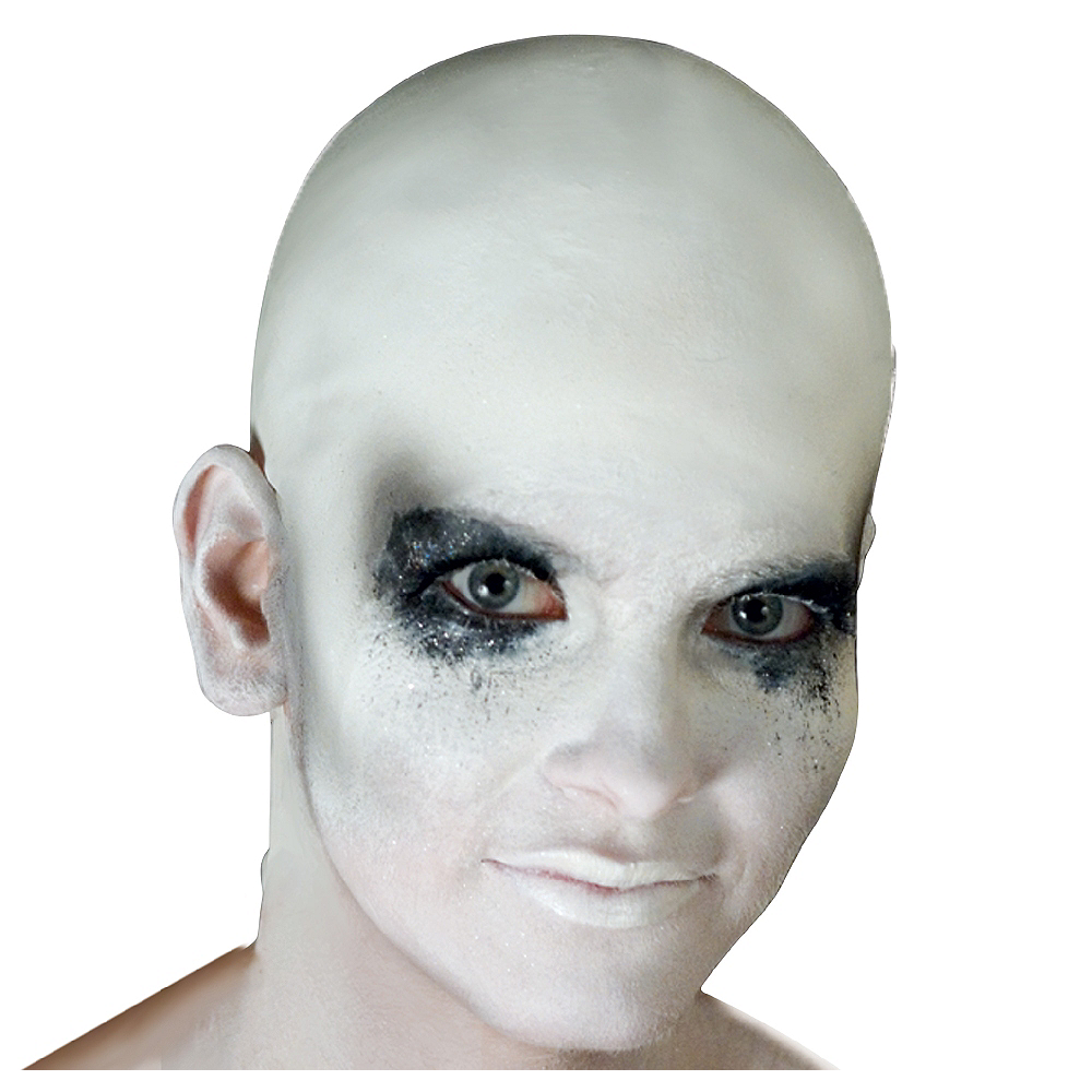 White Bald Cap Image #1