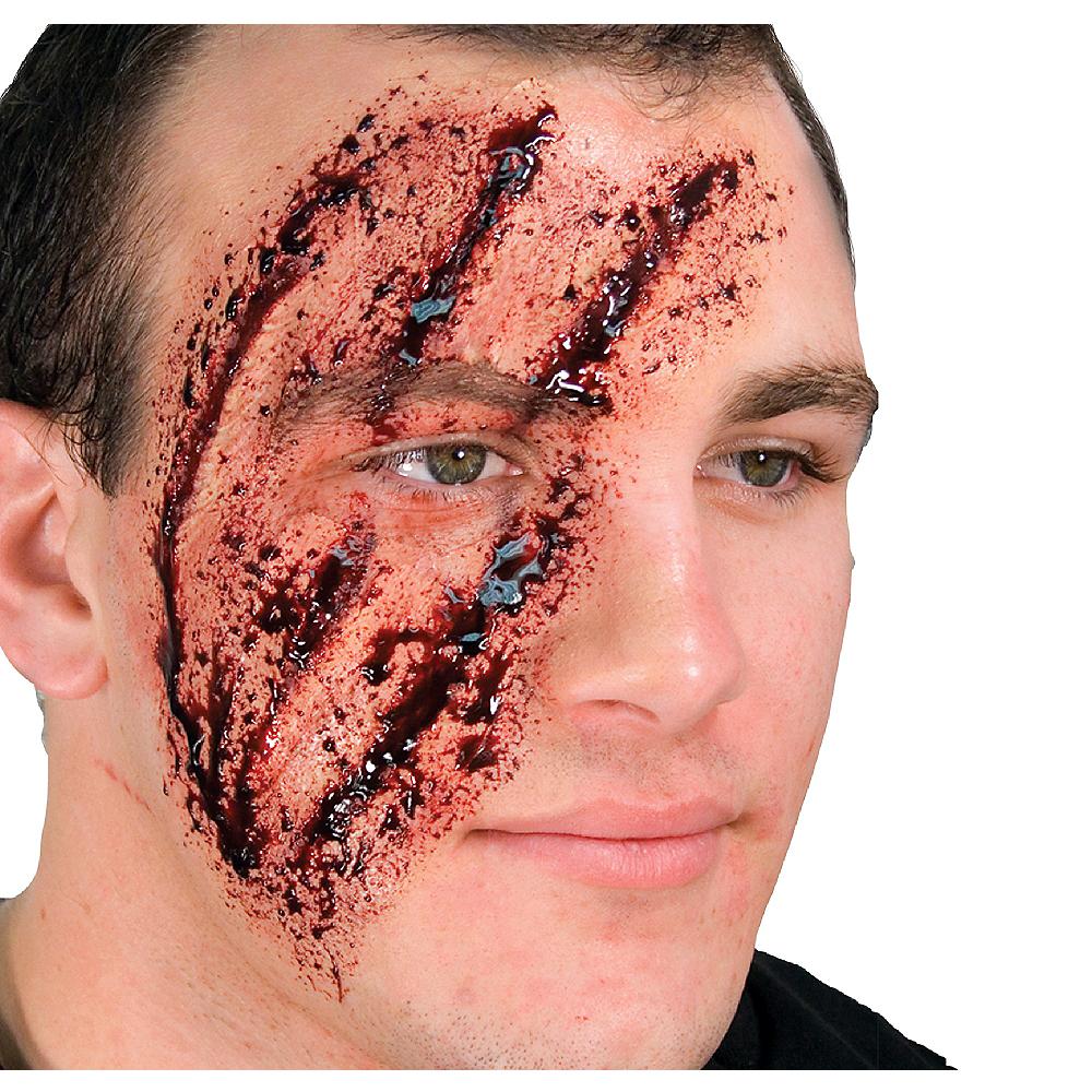 Shredded Face Prosthetic Image #1