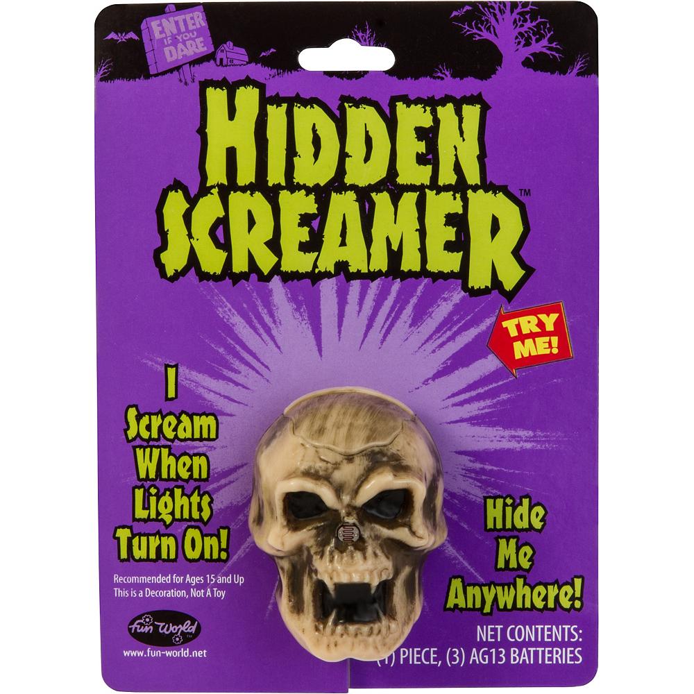 Light-Activated Hidden Screaming Skull Image #1