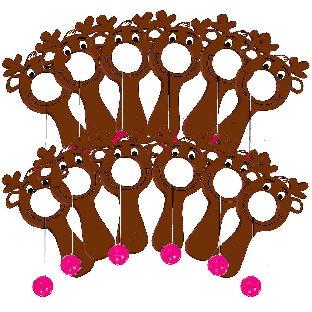 Reindeer Bullseye Games 12ct Image #1