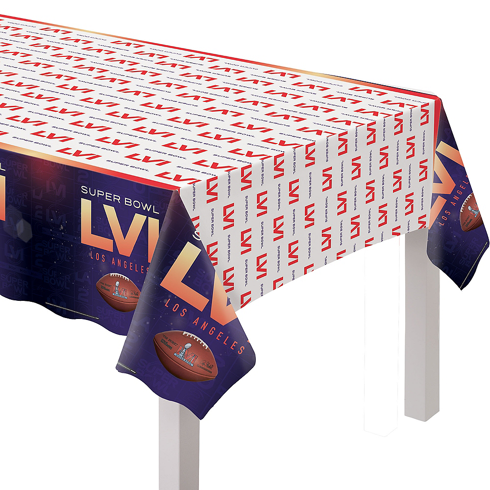 Super Bowl Table Cover Image #1