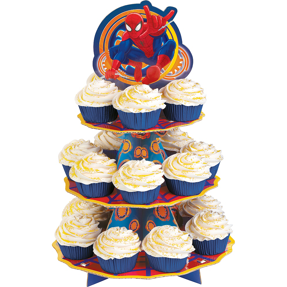 Wilton Ultimate Spider-Man Cupcake Stand Image #1