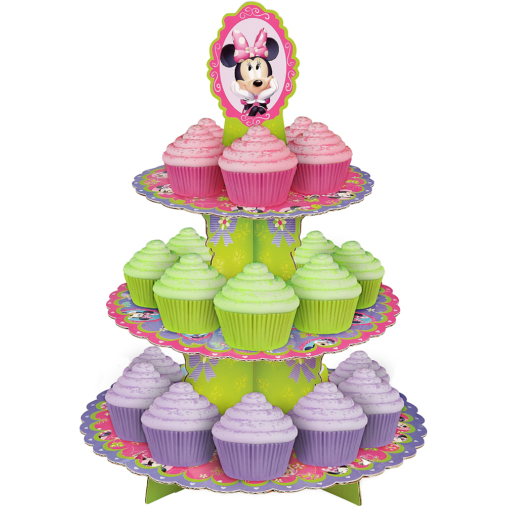 Wilton Minnie Mouse Cupcake Stand Image #1
