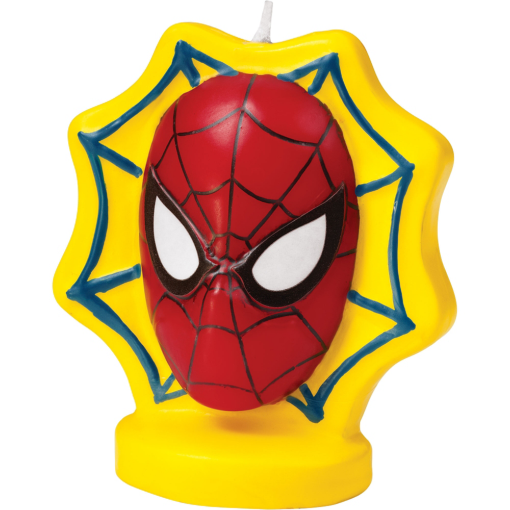 Wilton Spider-Man Candle 3in Image #1