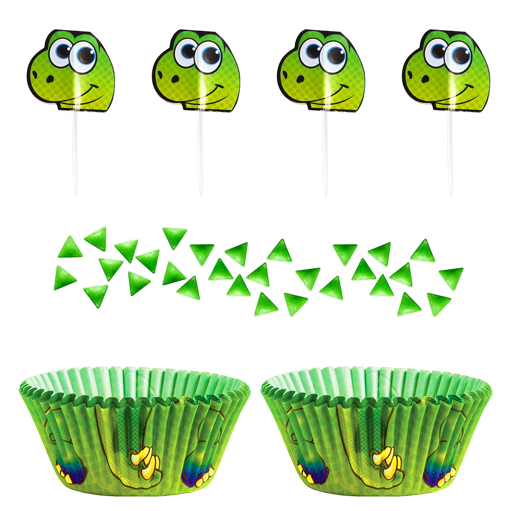 Wilton Dinosaur Cupcake Decorating Kit Image #1