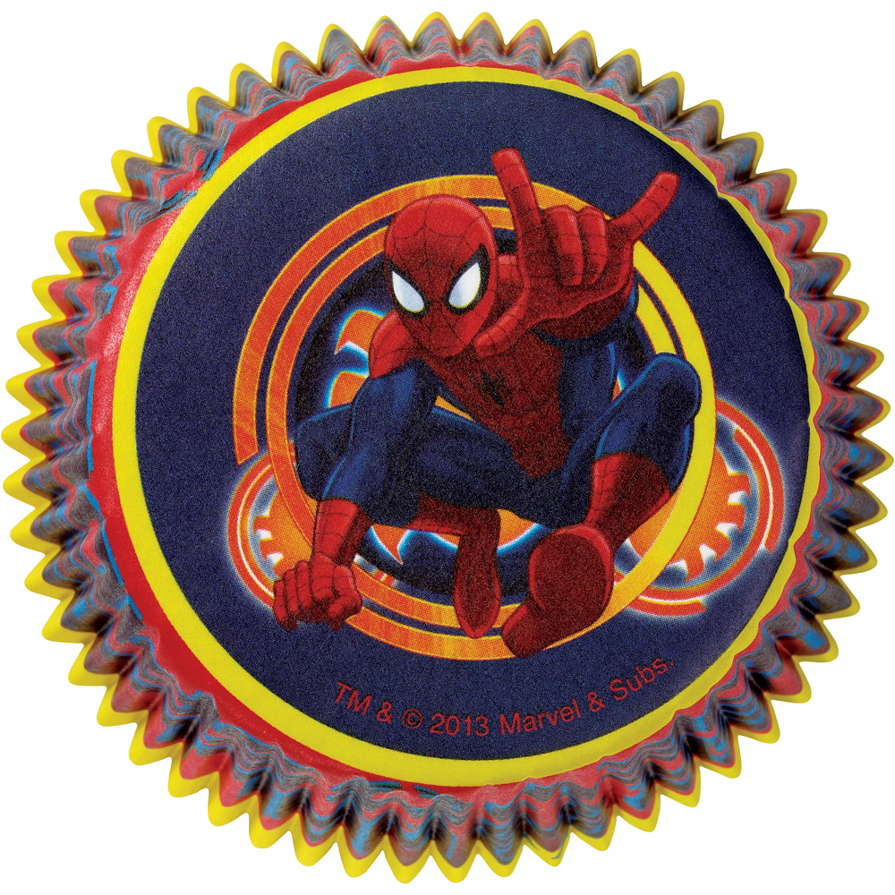 Wilton Ultimate Spider-Man Baking Cups 50ct Image #2