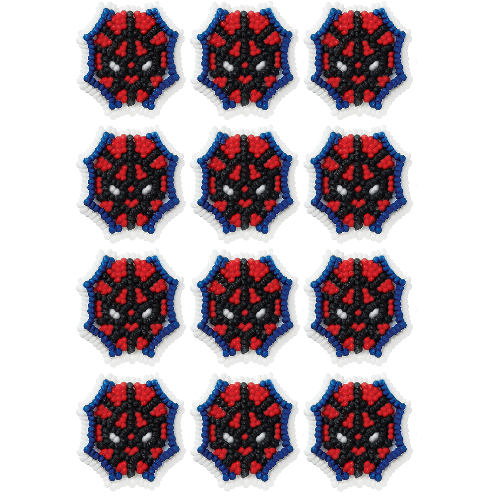 Wilton Ultimate Spider-Man Icing Decorations 12ct Image #1