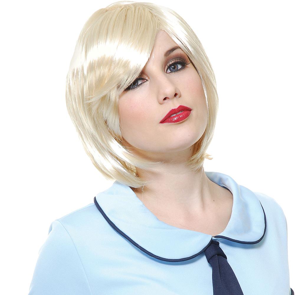 Lunar Anime Blonde Wig Image #2