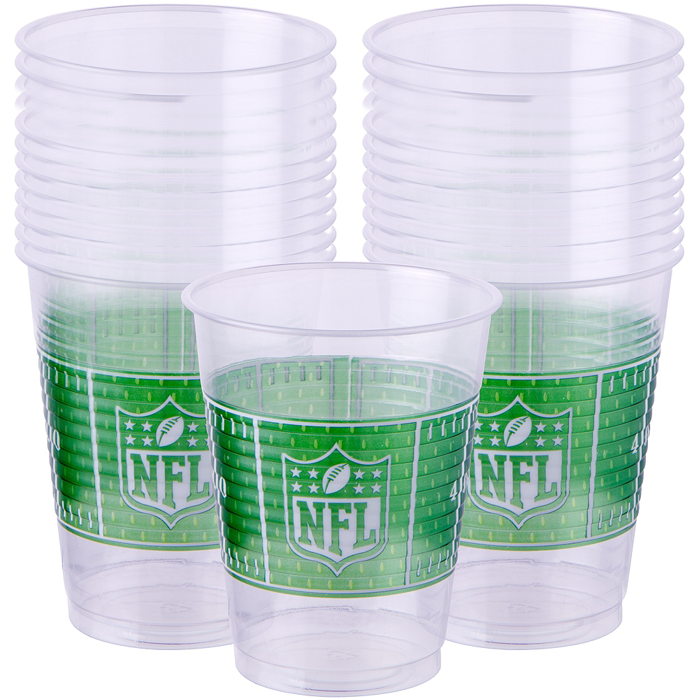 NFL Drive Plastic Cups 25ct Image #1