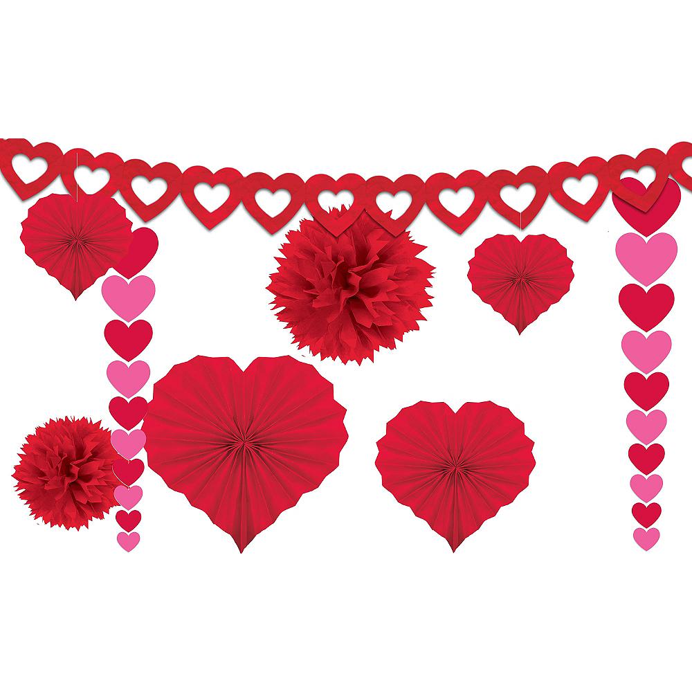 Valentine's Day Decorating Kit 9pc Image #1