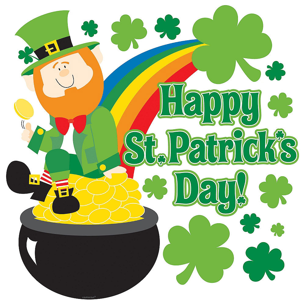 Happy St. Patrick's Day Cutout Image #1