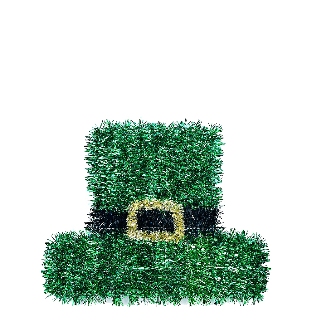 Tinsel Leprechaun Hat Image #1