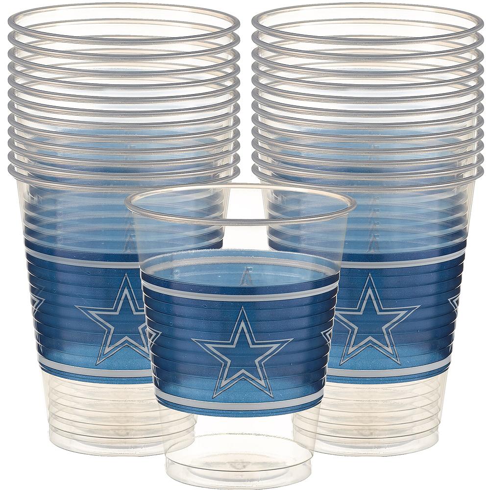 Dallas Cowboys Plastic Cups 25ct Image #1
