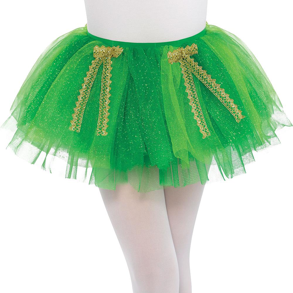 Child Green Shimmer St. Patrick's Day Tutu  Image #1